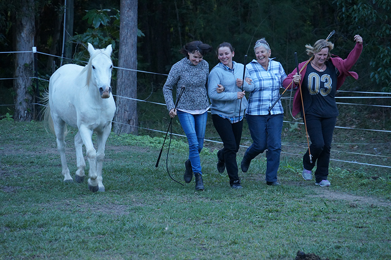 Journey to self love horse retreat